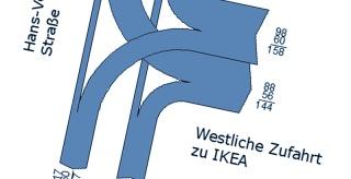 Verkehrsgutachten IKEA – Neubau Fürth-Poppenreuth